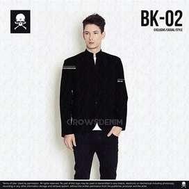 Blazer Slimfit,Blazer Korean Black Style,Blazer Casual,Blazer Terbaru