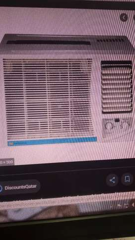 Window AC white westinghouse