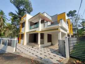 5 cent Redbrick house for sale at vattiyoorkavu vellaikadavu junction