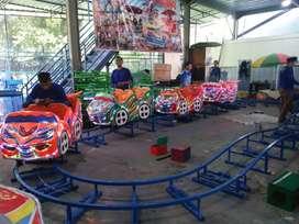Wahana minii coaster rel naik turun jumbo L05