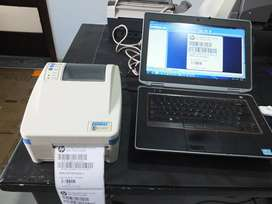 Barcode Thermal,Sticker Printer,price Tag Printer,1 year warranty