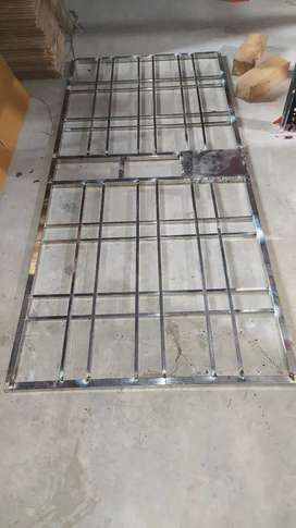 Safety gate stainless steel
