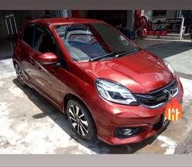 Dijual cepat honda brio rs 2018 good condition