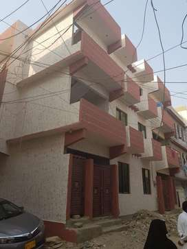 2 floor 240yrds 3 side corner roof for sale sarifabad block 1