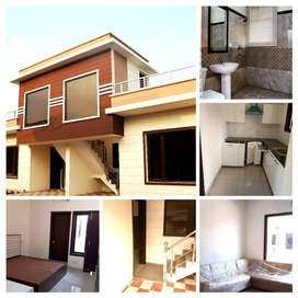 IN THE PRICE OF 3BHK FLAT GET VILLA AT DERABASSI AT JUST 23.90 LACS!!