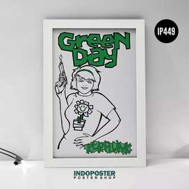IP449 Poster Musik Green Day Kerplunk Cover Album 45x30cm
