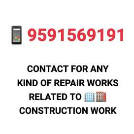 Call us for all Construction solutions related to house