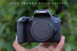Canon 77D Body Only Mulus Murah