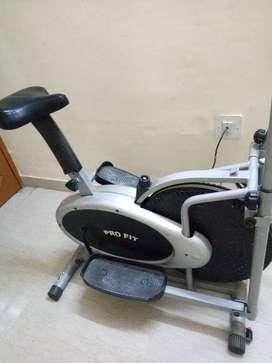 fitness cycle cross leg