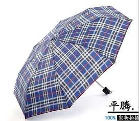 Payung Lipat 2 Motif Kembang / Bunga