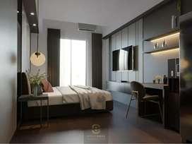 STUDIO TERLUAS MEWAH MURAH di Jogja Apartement Mataram City (DISKON)