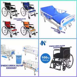 Hospital Bed full fowler & Good quality Bed in islamabad & wheelchair