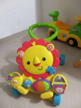 Fisher-Price musical Walker in new condition