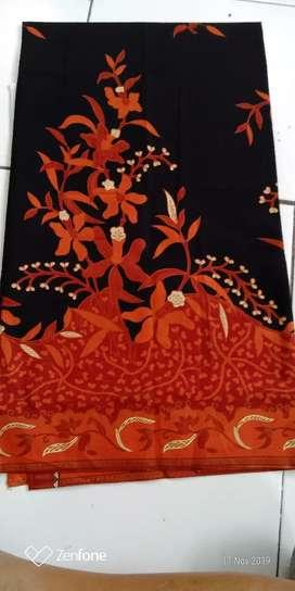 Kain Batik Merah Hitam Unggul Jaya
