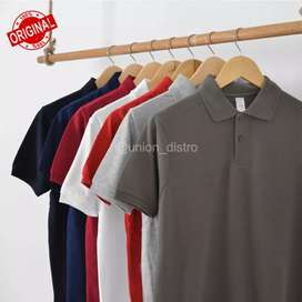 Polo Shirt Polos/Kaos Polos Berkerah Cowo & Cewe Bagus MurahSize S-XXL