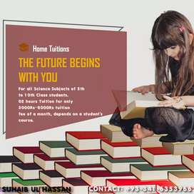Home Tuition service available
