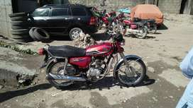 Honda Cg 125 all genuine Peshawar number