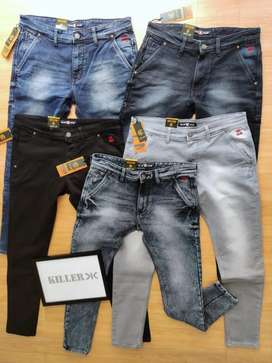 Brand import lot genuine quality jeans wholesale