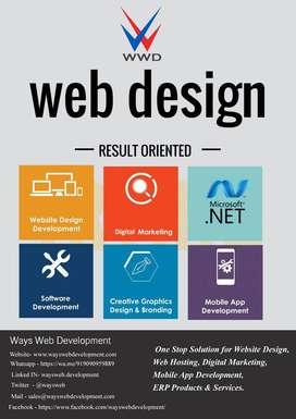 Web design, Web developer and App design – Ways Web Development