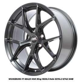 Velg Racing Mobil innova HSR R18X8,5 H5X114,3 ET 40