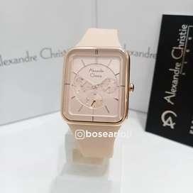 Jam Tangan Alexandre Christie AC 2744 Peach