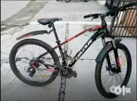 Urgent sale my celcius cycle with bill 21 gears 27.5 inch tyre