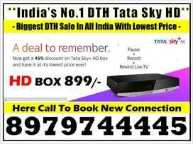IPL Sale Sale New Tata Sky HD Box Free Fire Stick &1 month free airte
