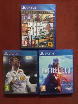 PS4 gaming CDs for sale