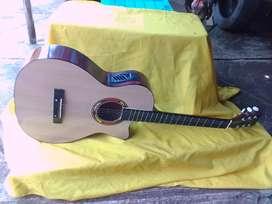Gitar akustik new eq guitar belajar