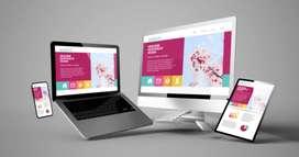 E-commerce Website, Business Website, School Website, Etc