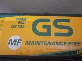 Aki bekas GS ASTRA MF 12V 70ah