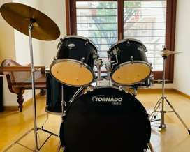 Newly bought Drum kit for a give away price