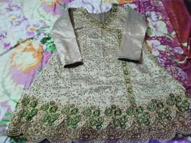 Women Branded embroided stiched dress