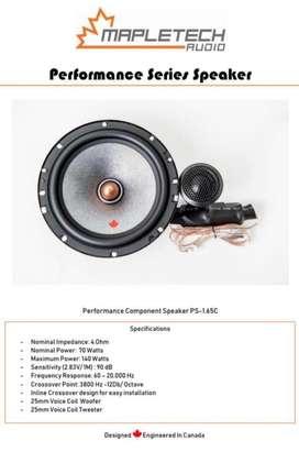speaker 2 way mapletech made in canada( folks audio)