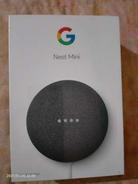 Unboxing Google nest mini speaker