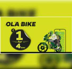Ola bike passenger carry