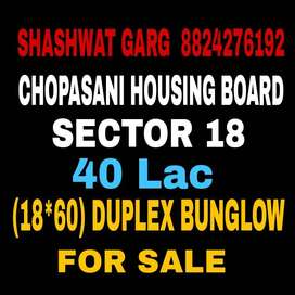 Sector 18 Chopasani Housing Board 18*36 House