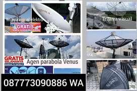 Agen pasang order online parabola lengkap gratis install murah