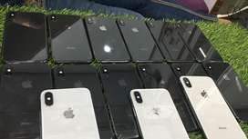 Iphone X 64 gb white nd grey colour