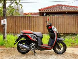 Honda Scoopy Cbs Iss Th 2019 Pjk Panjang 06-2022 Low KM 7RB GRESS‼