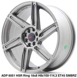 credit dan cash velg ADP 6051 HSR R18X8 H10X100-114,3 ET45 SMG