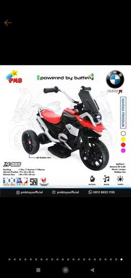 kado hadiah mainan sepeda motor anak laki-laki roda tiga 3 sd 6th