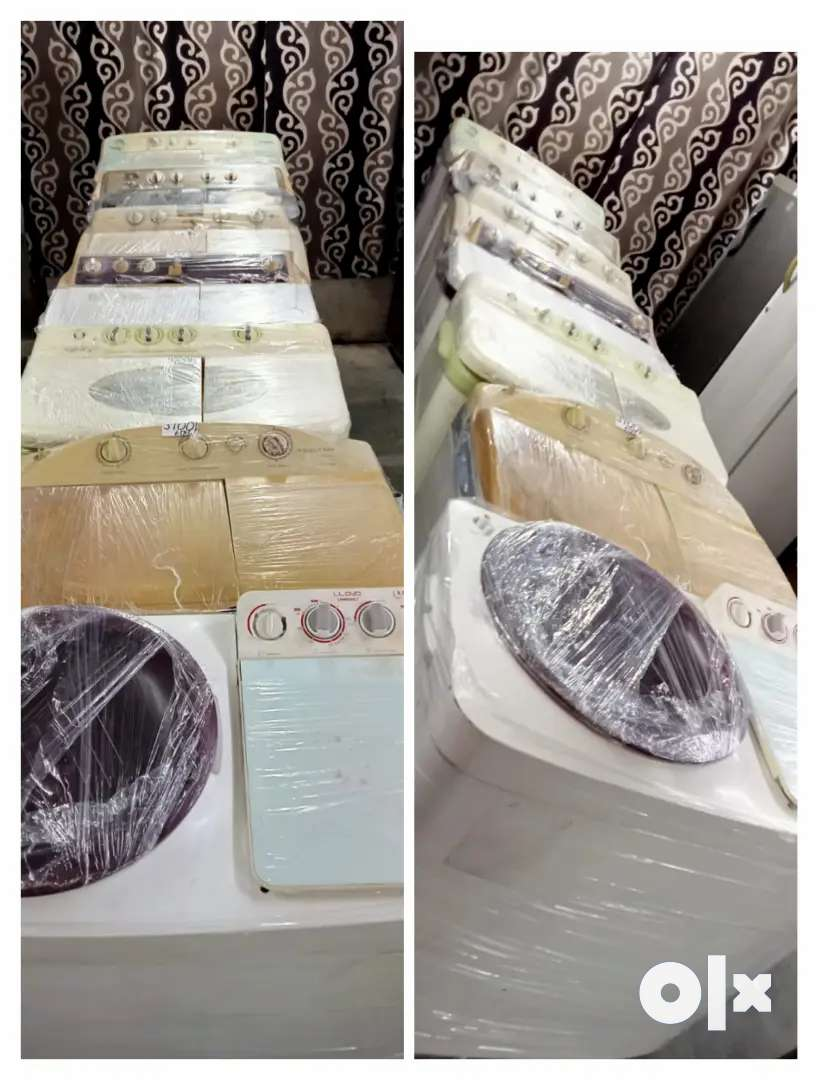 Gently used washing machine with warranty, home delivery available