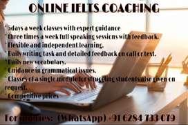 Online ielts coaching from highly expert teacher.