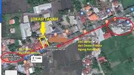 Disewakan Tanah Pinggir Jalan WR Supratman Singaraja Luas 4 Are