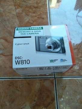 Jual kamera sony w810