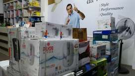 Home Delivery available Fan, Coolers, Inverter, Battery
