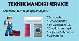 Service Ac Kulkas Mesin cuci - Bongkar pasang Ac - Isi freon Ac R22