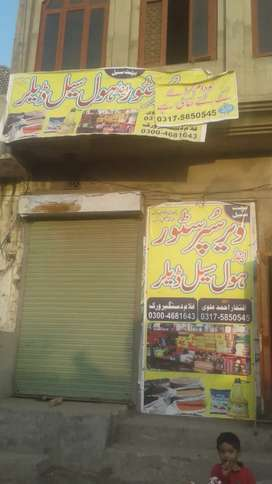 Tokeru wala bazar (Main Bazar) SheiTkhupura  ma 5 Marla shop for rent