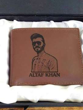 Wallet & Keychain - Picture Engraved